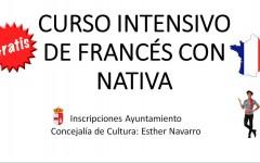 Curso intensivo de francés con nativa
